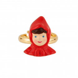 Adjustable Ring With Face...