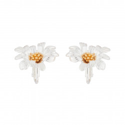 Clip-on Daisy Earrings