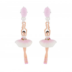 Pink And White Ballerina...