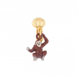 Monkey Clip-on Earring