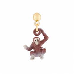 Monkey Stud Earring