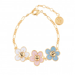 Small Flowers Thin Bracelet