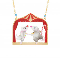 Dancer Mouses Long Necklace
