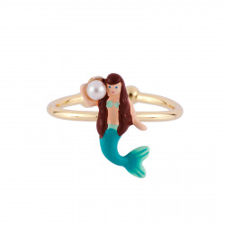 Adjustable Ring Little Mermaid
