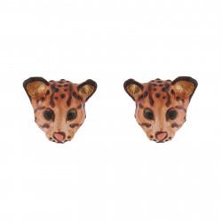 Wild Ocelot Stud Earrings