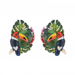 Toucan And Exotic Flower...