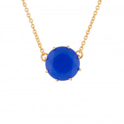 Royal Blue Round Stone La...