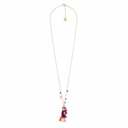 Long Necklace With Fashion...