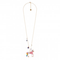 Long Necklace Unicorn With...