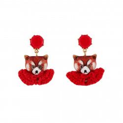 Earrings Leonie The Red...