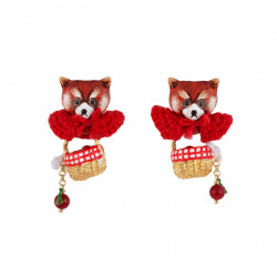 Earrings Leonie The Red...