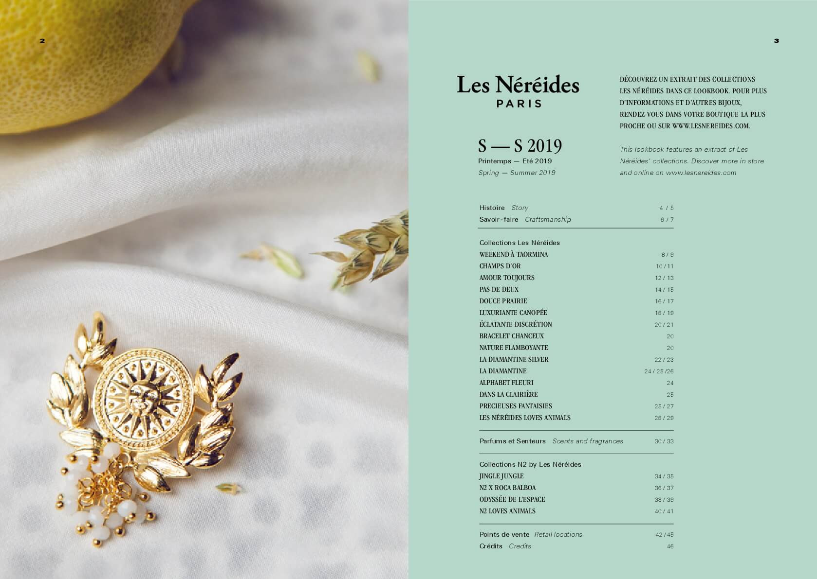La Maison Les Néréides - Collection Bijoux Fantaisie