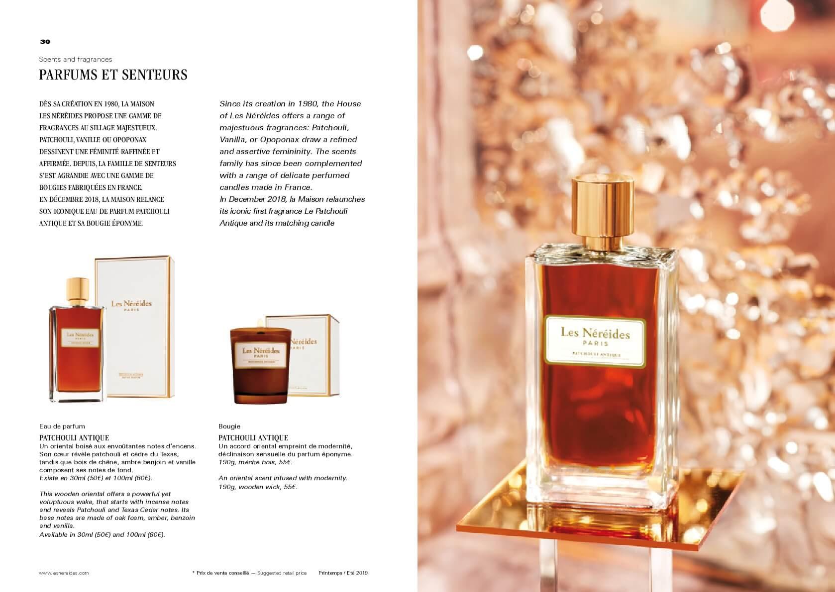 La Maison Les Néréides - Parfum et Bougies