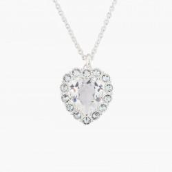 Heart And Crystals Pendant...