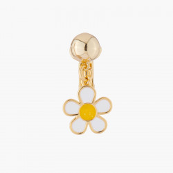 Flower Clip On Earring