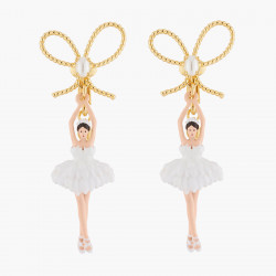 White Ballerina, Gold...
