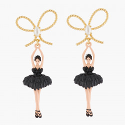 Black Ballerina,gold Ribbon...