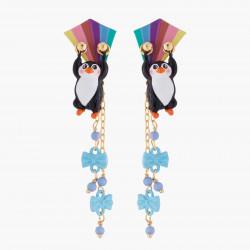 Penguin And Kite Stud Earrings