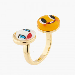 Moon And Sun Adjustable Ring