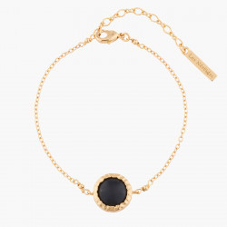 Black Onyx Chain Bracelet