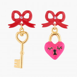Key And Heart Asymetrical...