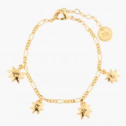 Star And Love Charm Bracelet