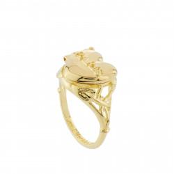Paris Secret Heart Ring