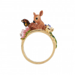 Ring With Fawn Lying In The...