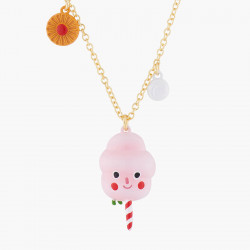 Candy Floss Pendant Necklace