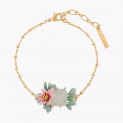 Pink Oleander Flower And...