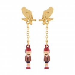Pinocchio The Puppet Earrings