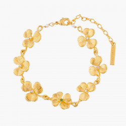 Clovers Thin Bracelet