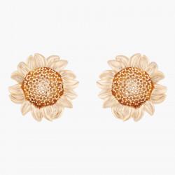 Sunflower Clip-on Earrings