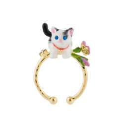 Cat And Flowers Adjustable...