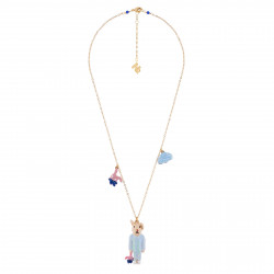 Necklace With Drops And...