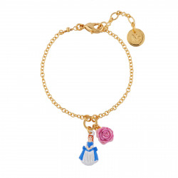 Charm Bracelet Beauty And Rose