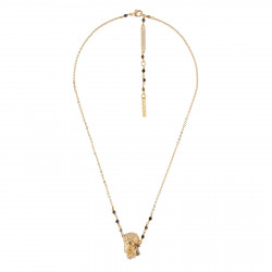 Necklace With Golden Greek...