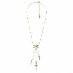 Necklace Pink Gold...