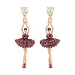 Earrings Ballerina With...