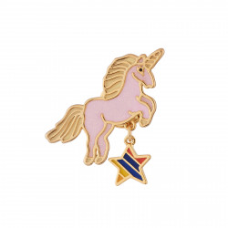 Girly Unicorn Pin