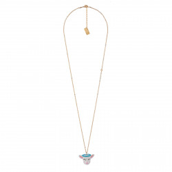 Long Necklace With Small...