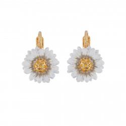 Small Daisy Dormeuses Earrings