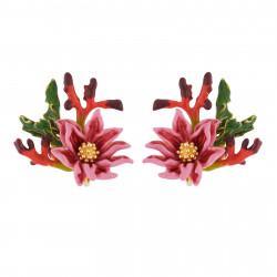 Clip-on Earrings Pink...