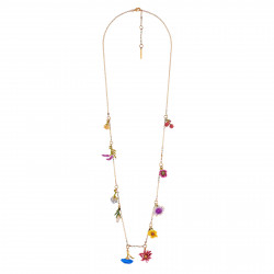 Charm Necklace Flowers...