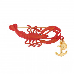 Brooch Featuring Lobster...