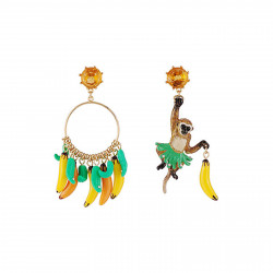 Asymmetrical Earrings Bruno...