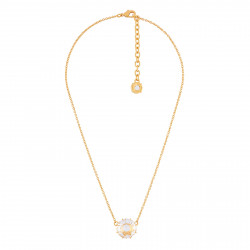 Round Crystal Stone Necklace