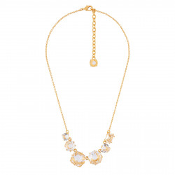 6 Crystal Stones Necklace