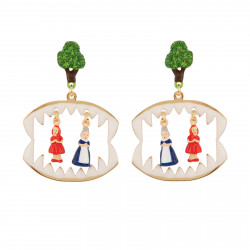 Earrings Featuring Little...