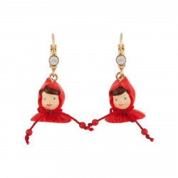 Earrings With The Face Of...